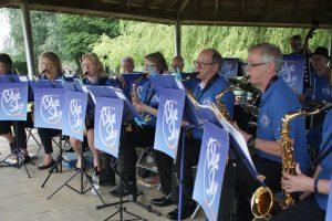 Blue Sky Big Band Henley Saxophones