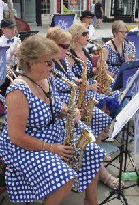 Blue Sky Big Band Saxophones